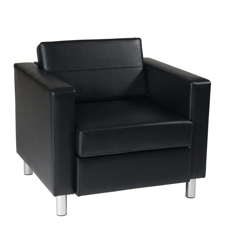 Office Star Chairs office star pacific arm chair - pac51-v18 | reception & waiting