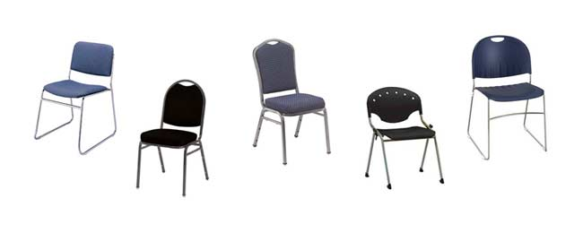 Stack Chair Types