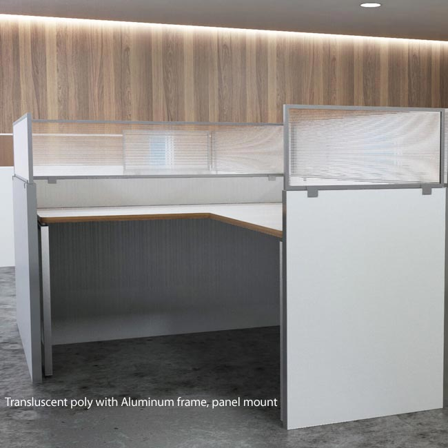 obex panel extenders with 18x36p Polycarbonate Tile Panel Extender on Cubicle Overhead Light Shield furthermore Privacy Panels For Desks 24485 besides Cubicle Overhead Light Shield besides 1887 also A Shady Cubicle Accessory.