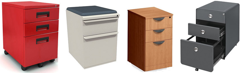 Examples of Pedestal File Cabinets