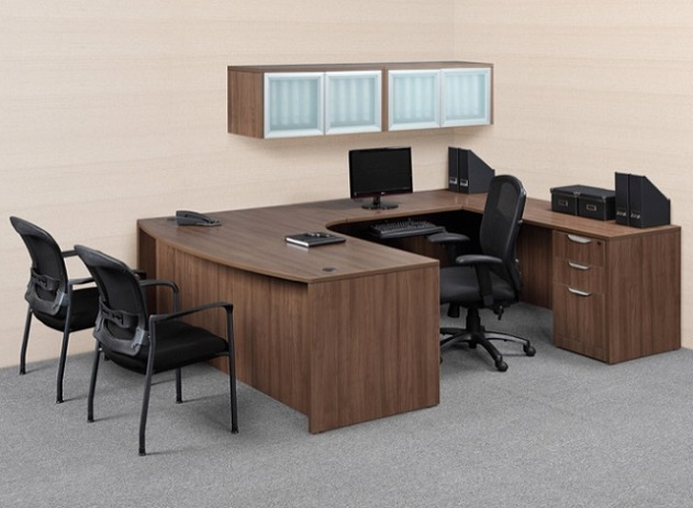 Ndi Office Furniture Classic Series U Shaped Desk Suite Pl11 U Shaped Desks Worthington Direct