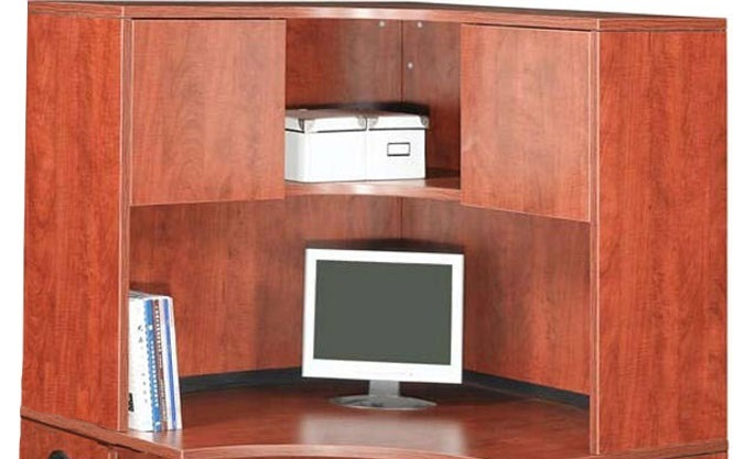 Ndi Office Furniture Corner Hutch 36 H Pl126 L Shaped Desks Worthington Direct