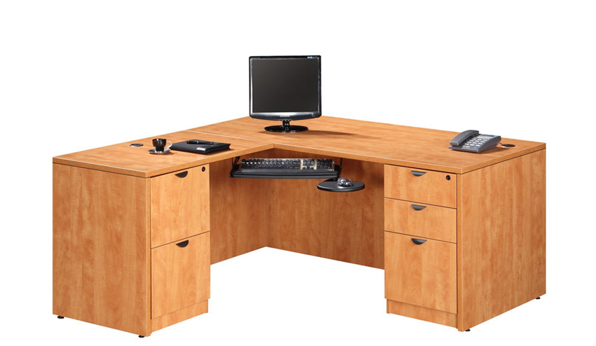 ndi office furniture executive l shaped desk pl14 l shaped desks worthington direct