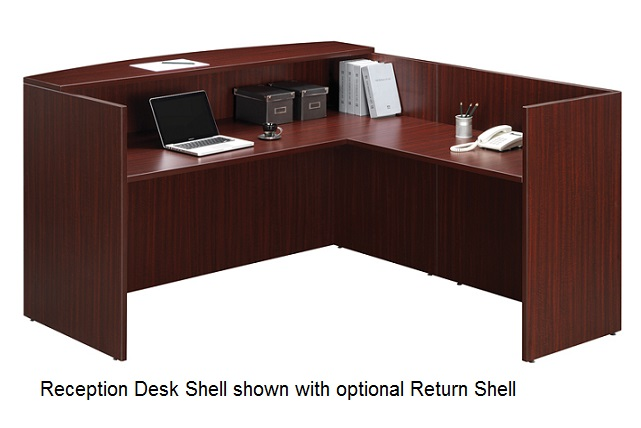 stock 82164 ndi office furniture pl169 bow front reception desk shell bow front reception counter office reception desk