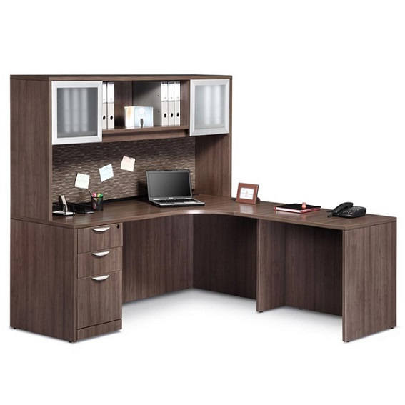 Incroyable Pl24 Executive L Shaped Desk