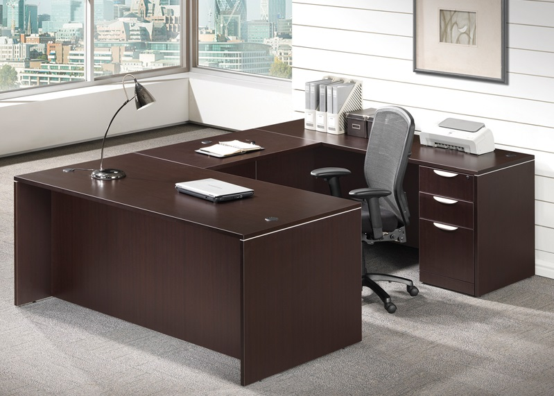 Superior Pl28 Executive U Shaped Desk