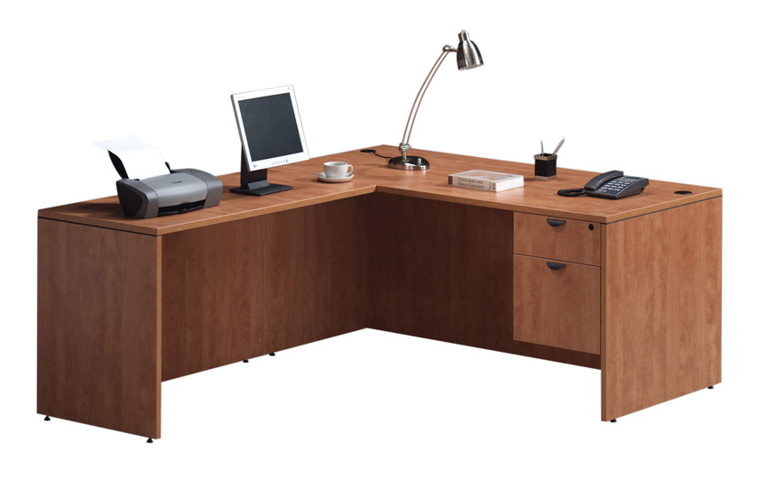 Ndi Office Furniture Executive L Shaped Desk Pl36 L Shaped Desks Worthington Direct