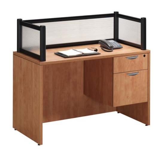 Borders Reception Desk by NDI Office Furniture
