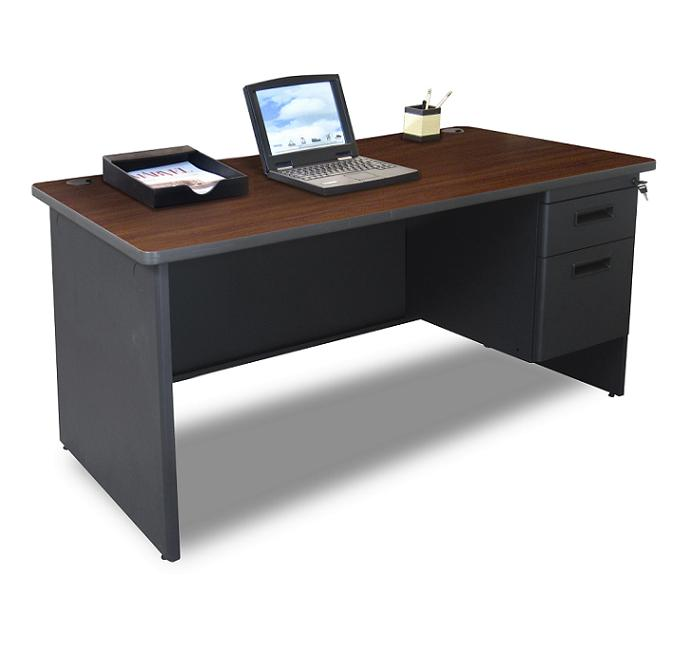Marvel Pronto Single Pedestal Desk 30 Quot X 60 Quot Pdr6030sp