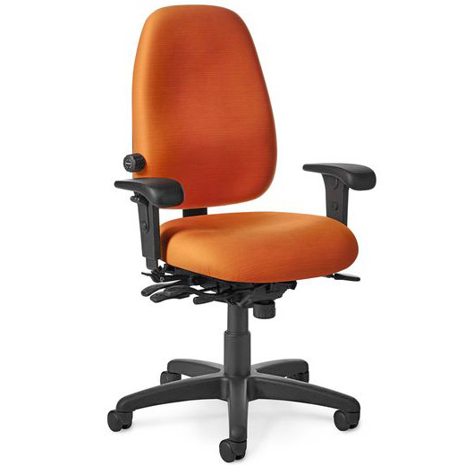 Beau Grade 3 Anti Microbial Vinyl Paramount Series Task Chair By Office Master,  PT69   Stock #65202