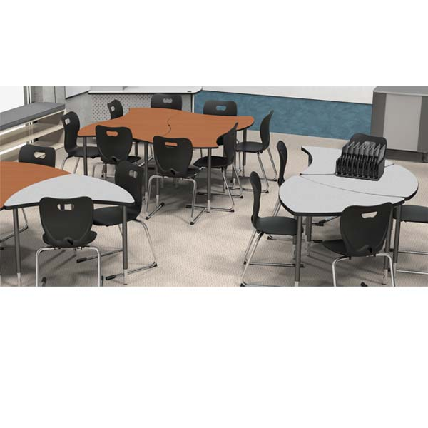 Collaborative Student Desks ~ Balt quad collaborative student desk large xxdx