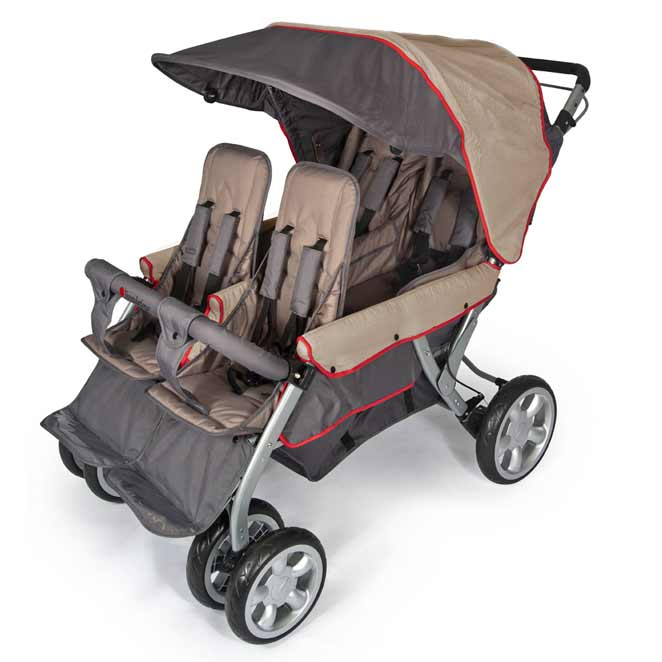 All Quad Lx 4 Passenger Stroller By Foundations Options