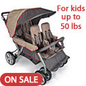 Click here for more Quad LX 4 Passenger Stroller by Foundations by Worthington