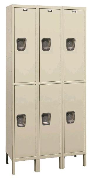 uy3888-2a-maintenance-free-quiet-double-tier-3-wide-locker-assembled-18-w-x-18-d-x-36-h