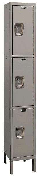 maintenance-free-quiet-triple-tier-1-wide-lockers-by-hallowell