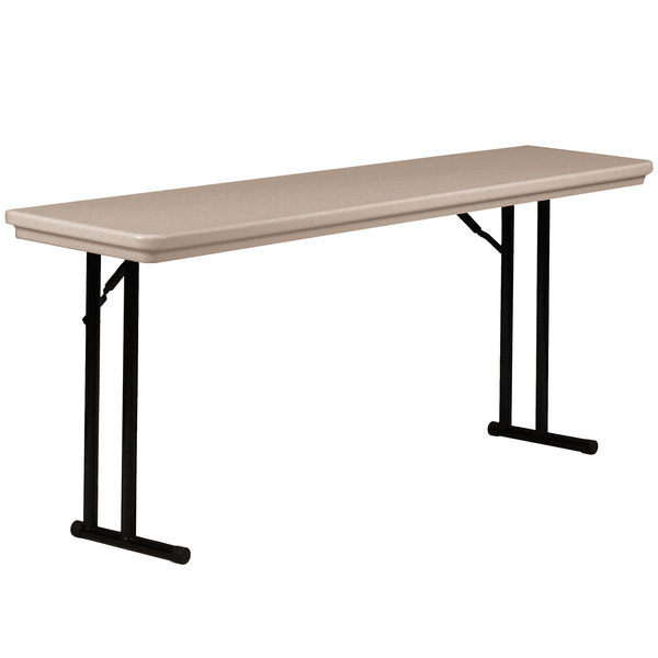 r187224-18x72x29h-mocha-granite-top-black-frame-plastic-resin-folding-table