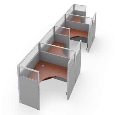 r1x46360p-rize-series-cubicle-1x4-configuration-w-translucent-top-63-h-panel-5-w-desk