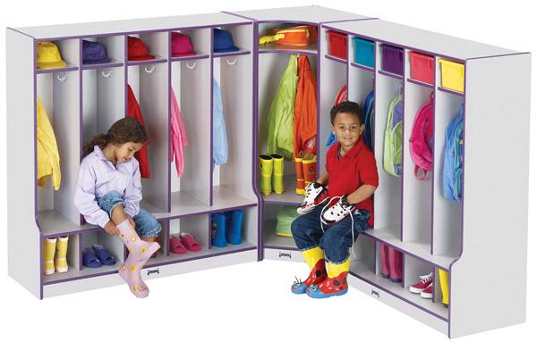 6686jcww-rainbow-accents-corner-coat-locker-w-step