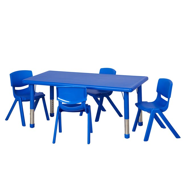 elr14405p4x16-one-plastic-resin-rectangular-table-with-four-16-plastic-resin-chairs