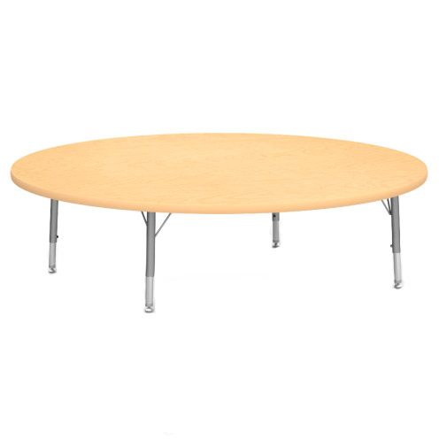4848r48flrleg Floor Activity Table 48 Round