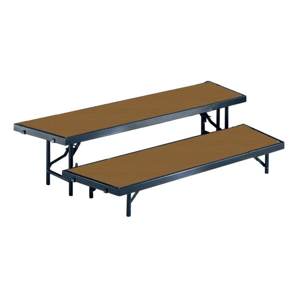 rtrp2h-66lx35dx16h-2-level-tapered-choral-riser-hardboard-surface-wblack-metal-capacity-79