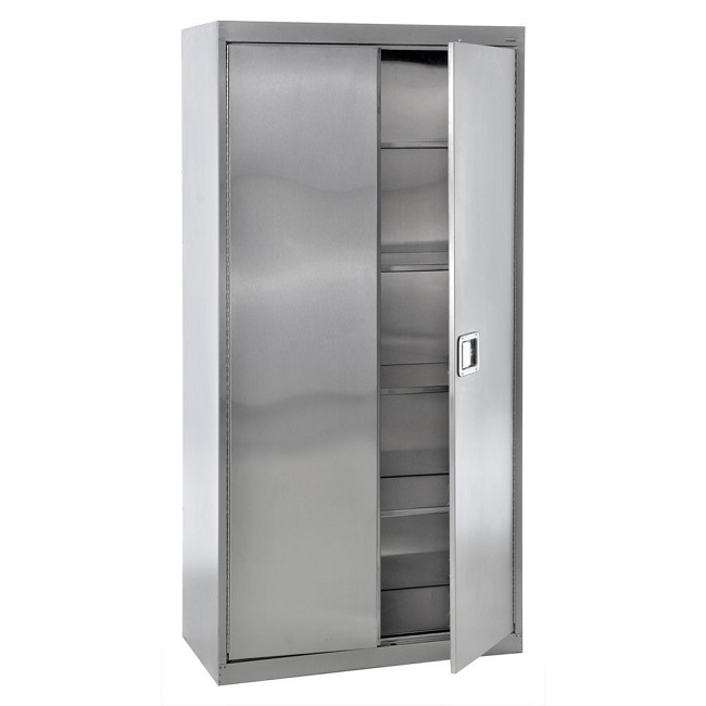 sa4d482478-stainless-steel-storage-cabinet-w-paddle-lock-48-x-24-x-78