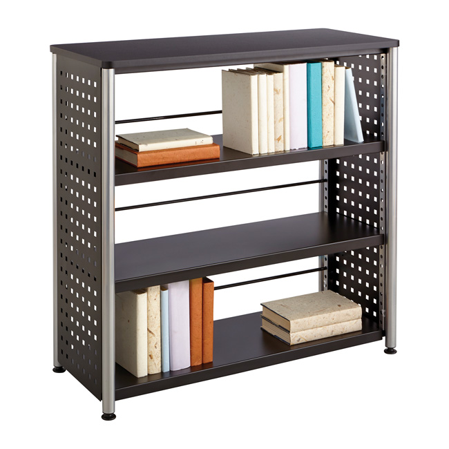1602bl-scoot-3-shelf-bookcase