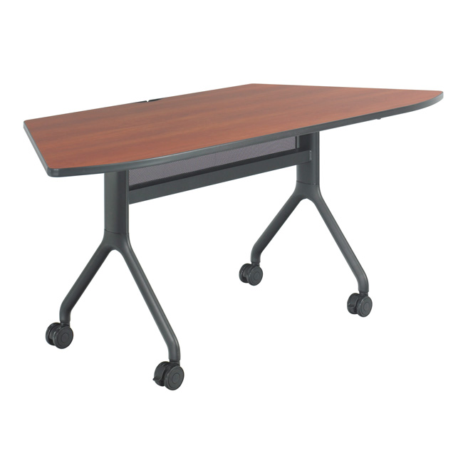 safco products rumba nesting tables 30 x 72 trapezoid 2037 training and seminar tables. Black Bedroom Furniture Sets. Home Design Ideas
