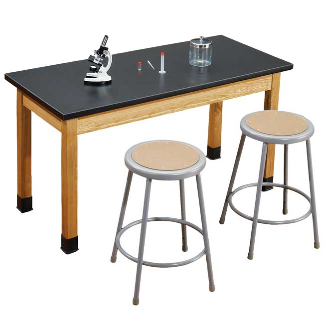 Slt24482 6218 One Acid Resistant Science Lab Table
