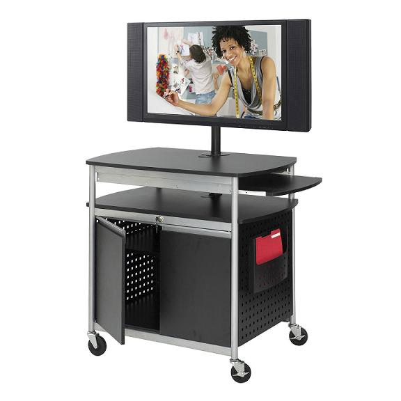 8941-scoot-flat-panel-multimedia-cart-w-cabinet