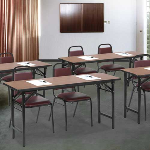 Kfi Seating Folding Seminar Training Table X Tf - 18 x 60 training table