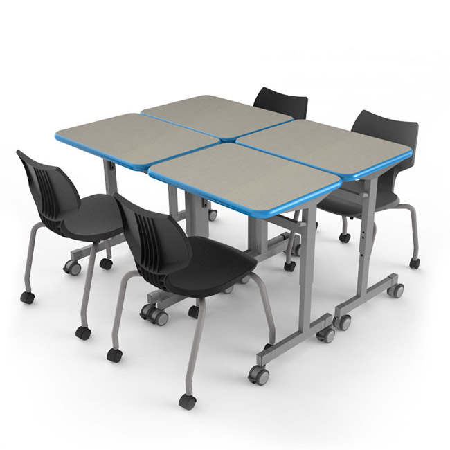 Smith System Silhouette School Desk Adjustable Height