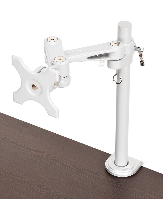 mon-c-sngl-svr-single-flat-panel-monitor-arm-w-clamp-mount