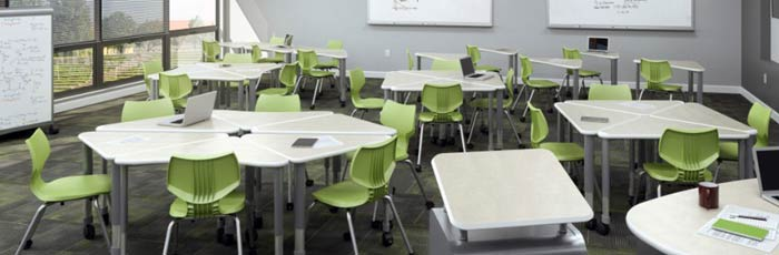 Smith System collaborative classroom