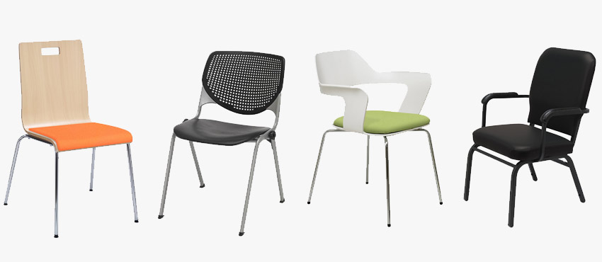 Types of common stack chairs