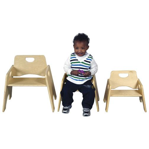 Attrayant Elr 18005 Stackable Toddler Chair 6 H