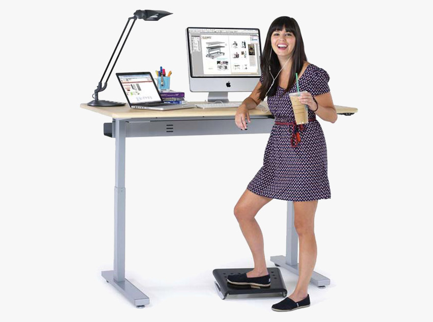 Stand-Up Office Desk example