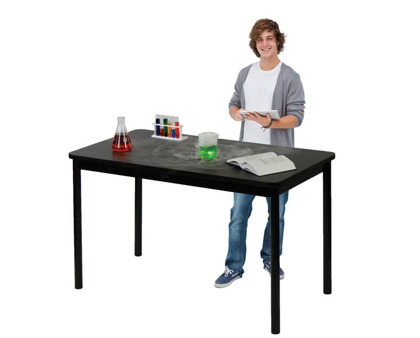 Standing Height Science Lab Table