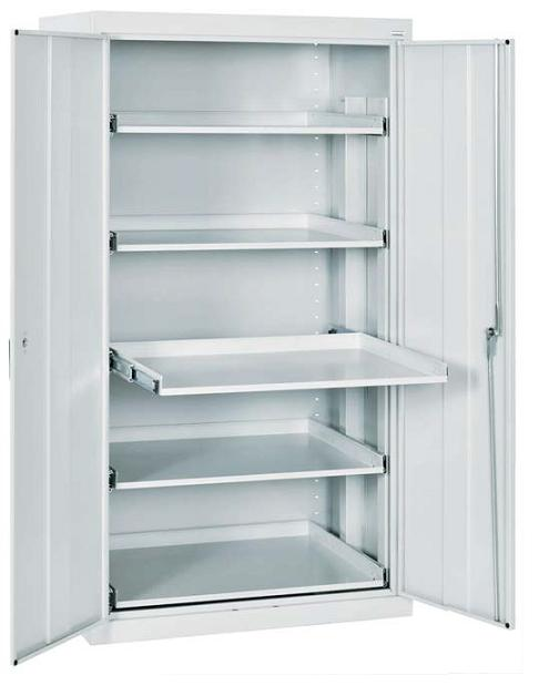 Sandusky Lee Storage Cabinet W Five PullOut Shelves 36 X 24 X