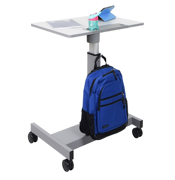 Luxor Sit And Stand Student Desk Pneumatic StudentP StandUp
