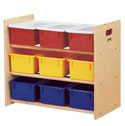 Click here for more 9 Tray Tote Storage Rack by Jonti-Craft by Worthington