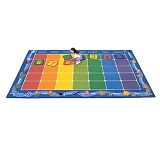 Calendar Rug by Carpets for Kids