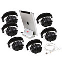 Click here for more iPad Jackbox with 6 Headphones by Califone by Worthington