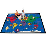 World Explorer Carpet by Carpets for Kids
