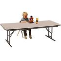 Click here for more Rectangular Adjustable Height School Folding Tables by Allied by Worthington