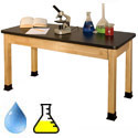 "Click here for more 36""H Tall Chemical Resistant Laminate Science Tables by Allied by Worthington"