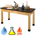 "Click here for more 36""H Tall Superior Epoxy Resin School Chemistry Science Tables by Allied by Worthington"