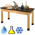 Click here for more Phenolic Resin Top Chemistry Science Tables by Allied by Worthington