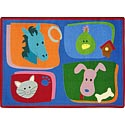 Click here for more My Favorite Animals Carpet by Joy Carpets by Worthington