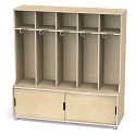Click here for more TrueModern 5-Section Coat Locker by Jonti-Craft by Worthington